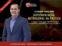 Novo Curso de Suplementação Nutricional na Prática